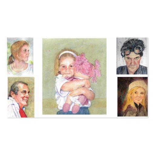 Tarjeta de visita de Maria Dunham Walters