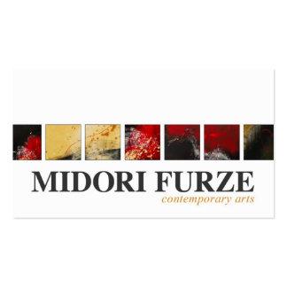 Tarjeta de visita de Midori Furze
