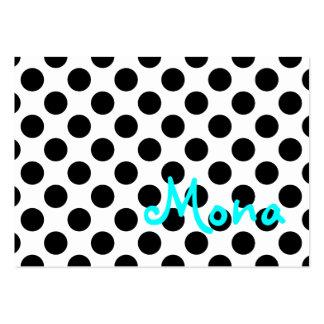 Tarjeta de visita de Mona