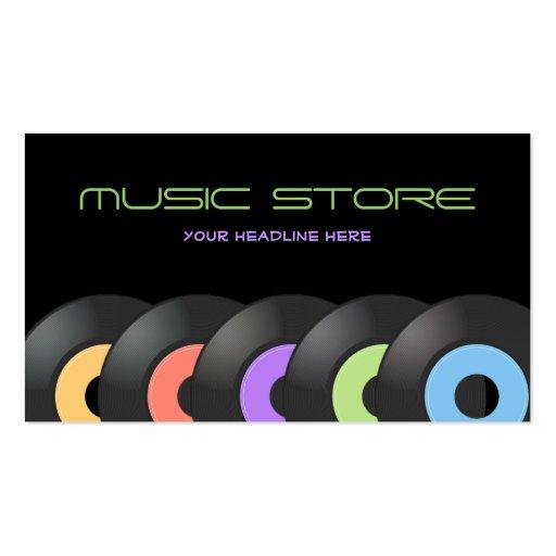 Tarjeta de visita de Music Store