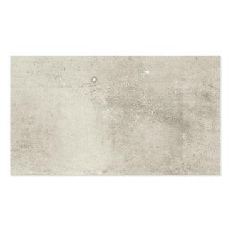 Tarjeta de visita de papel texturizada espacio en