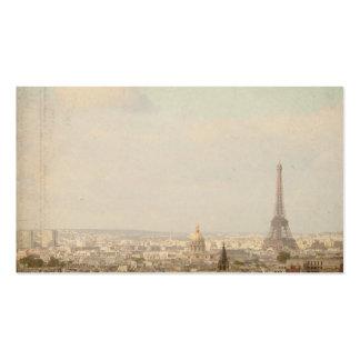 Tarjeta de visita de París