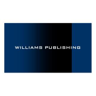 Tarjeta de visita de publicación de Williams