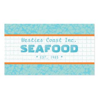 Tarjeta de visita de Seafood Company