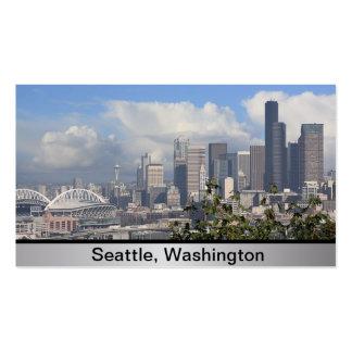 Tarjeta de visita de Seattle Washington