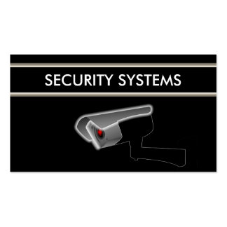 Tarjeta de visita de seguridad