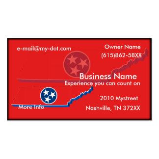 Tarjeta de visita de Tennessee