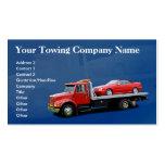 Tarjeta de visita de Towing Company