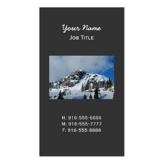 Tarjeta de visita de Truckee California