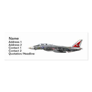 Tarjeta de visita de VF-14 Tophatters