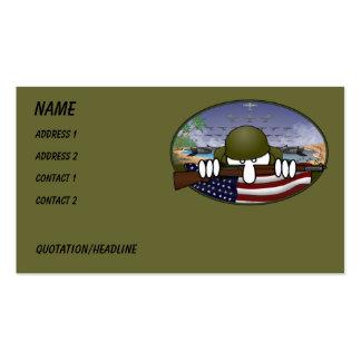 Tarjeta de visita de WW2 Kilroy