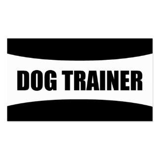 Tarjeta de visita del adiestrador de perros