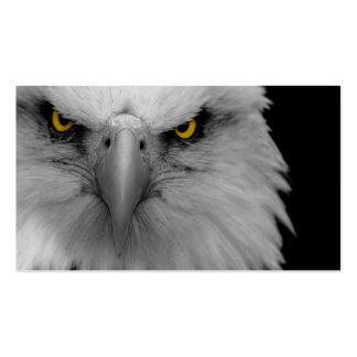 tarjeta de visita del águila calva