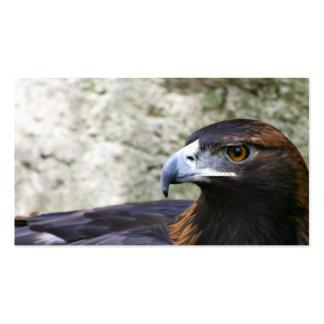 Tarjeta de visita del águila de oro