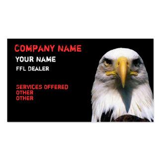 tarjeta de visita del águila