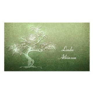 tarjeta de visita del árbol