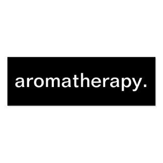 Tarjeta de visita del Aromatherapy