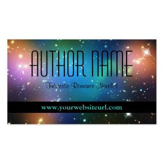 Tarjeta de visita del autor de Sci Fi