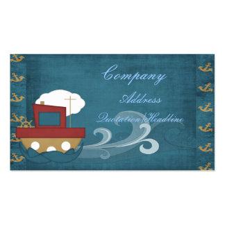 tarjeta de visita del barco