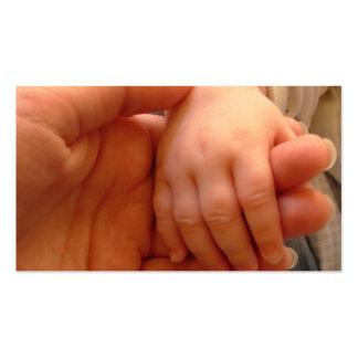 Tarjeta de visita del bebé