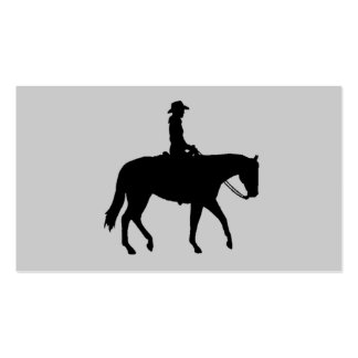 Tarjeta de visita del caballo