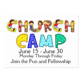 Tarjeta de visita del campo de la iglesia - SRF