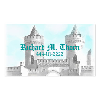 Tarjeta de visita del castillo