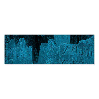 Tarjeta de visita del cementerio