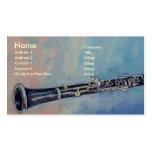 Tarjeta de visita del Clarinet