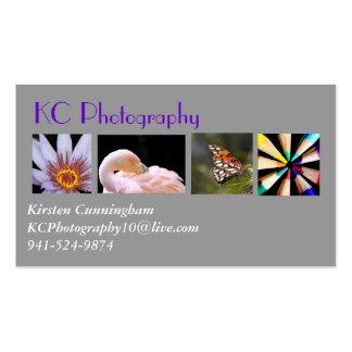 Tarjeta de visita del collage de la fotografía