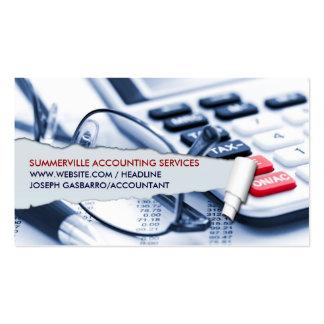 Tarjeta de visita del contable