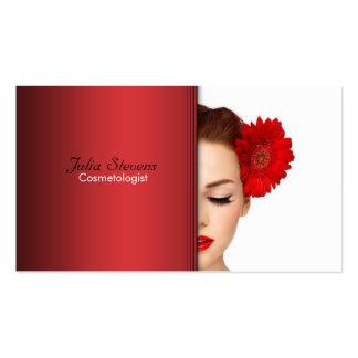 Tarjeta de visita del Cosmetologist