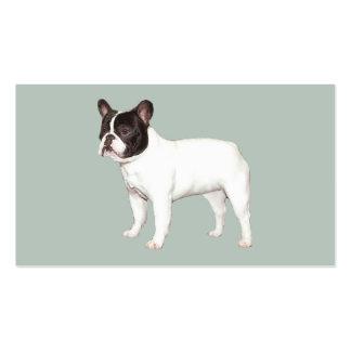 Tarjeta de visita del criador del dogo francés