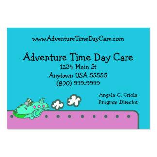 Tarjeta de visita del cuidado de día