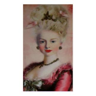Tarjeta de visita del ~ de la reina Marie