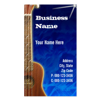 tarjeta de visita del ~ de ukulele.blue