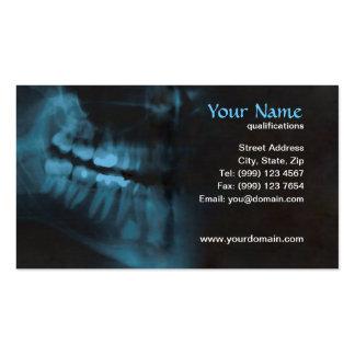 tarjeta de visita del dentista