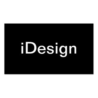 Tarjeta de visita del diseñador