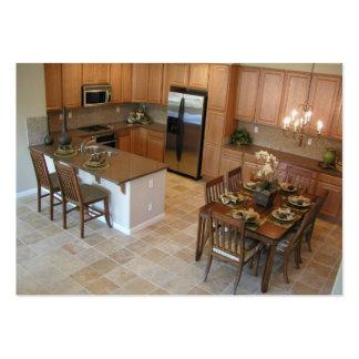 Tarjeta de visita del diseño de la cocina