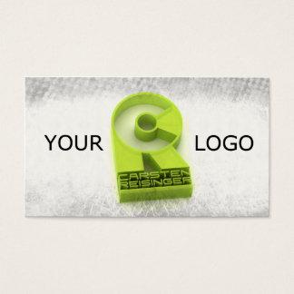 Tarjeta de visita del diseño de la tarjeta de