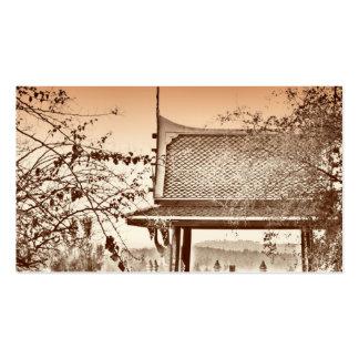 Tarjeta de visita del diseño del chino