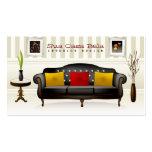Tarjeta de visita del diseño interior de Bela de l