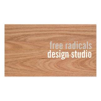 Tarjeta de visita del diseño moderno