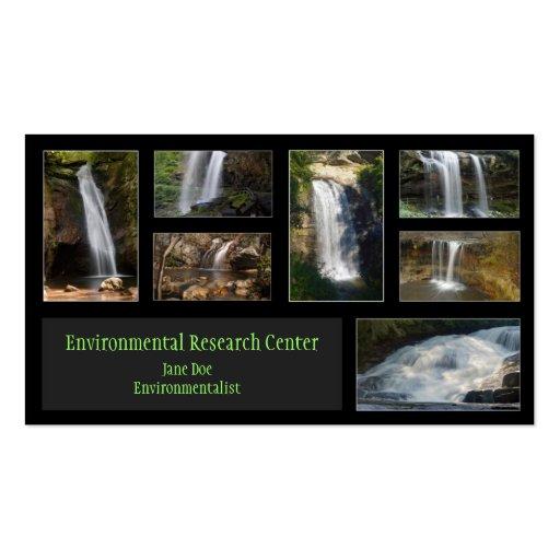 Tarjeta de visita del ecologista