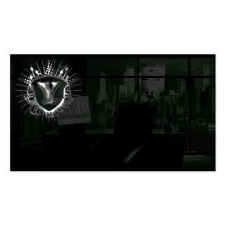Tarjeta de visita del entretenimiento de YUP