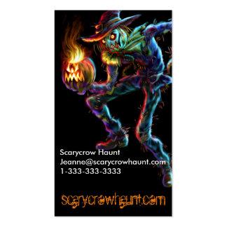 Tarjeta de visita del espantapájaros de Scarycrow