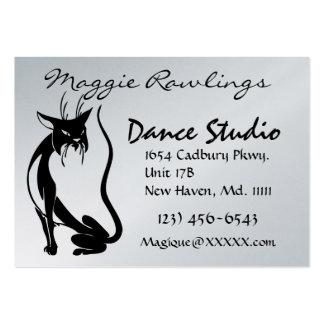 Tarjeta de visita del estudio de la danza por SRF