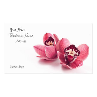 Tarjeta de visita del florista