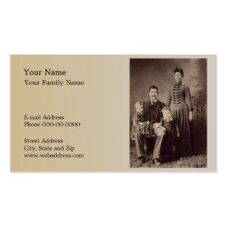 Tarjeta de visita del Genealogist