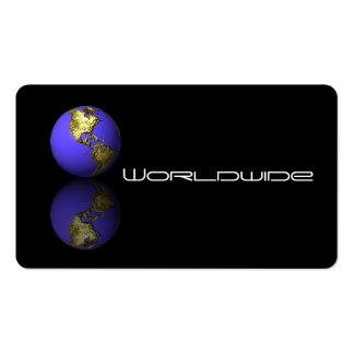 Tarjeta de visita del globo